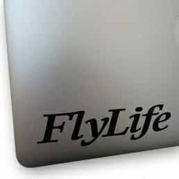 FlyLife Sticker - Masthead