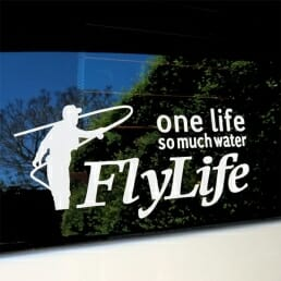 FlyLife Sticker - One Life Car Transfer