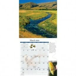 Fly Fishing Dreams 2019 Calendar